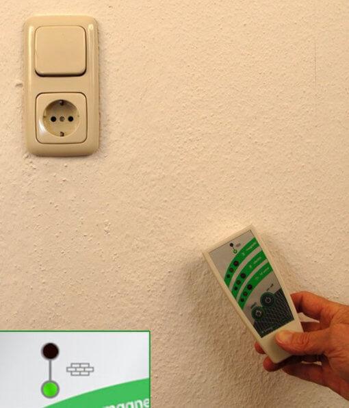 Localisation des lignes électriques dans les murs